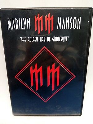 MARILYN MANSON THE GOLDEN AGE of GROTESQUE DVD