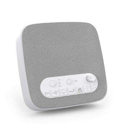 Sleep Therapy Sounds White Noise Machine Maker Relaxing Sleeping Office 7 Sounds