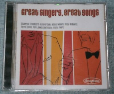 Various Artists - Greatest Singers Great Songs (2000) CD ALBUM