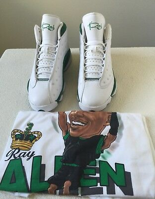 a032939a6efc ... XIII PE Retro Ray Allen Clover 414571-125 SZ Size 9 DS  100%%.  799.99  Buy It Now 20d 21h. See Details. Ray Allen Air Jordan 13 Set With Release  Shirt