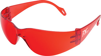 Palmero Bonding Wraps Red Color Eyewear, Fog-Free, One Size Fits All (3600)