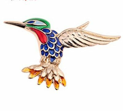 Hummingbird, Brooch, Pin