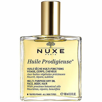 Nuxe Huile Prodigieuse Multi-Purpose Dry Oil 100Ml New