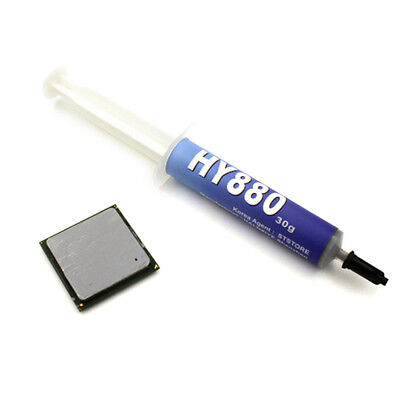 HY880 30g Needle Tube Packing Super Carbon Nano Thermal Grease For CPU GPU