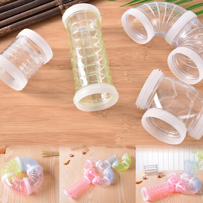 DIY Hamster Mouse Cage Replacement Tube Pack Curves Straights Connectors Toy JB