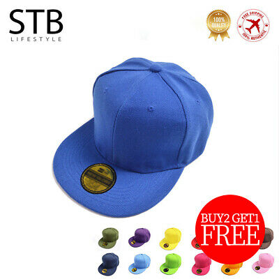 💕2019 Hot Cosy Men Blank Plain  Hat Unisex Hip-Hop Adjustable Bboy Baseball Cap