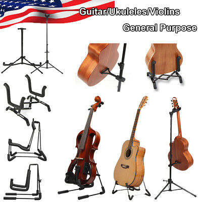 US Guitar/Ukuleles/Violins Stand Single A-Shaped Musical Instruments Accessories