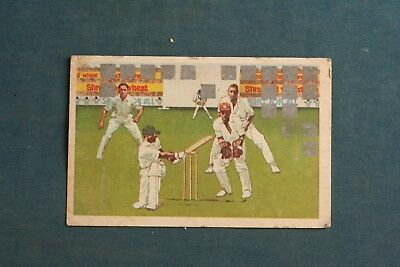 vintage nabisco Cricket scratch card promoted by Kevin Keegan 1979 unscratched