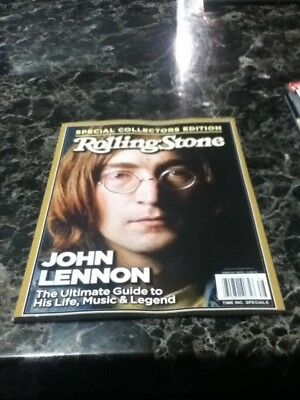 rolling stone magazine collector's edition john lennon remembered issue #86