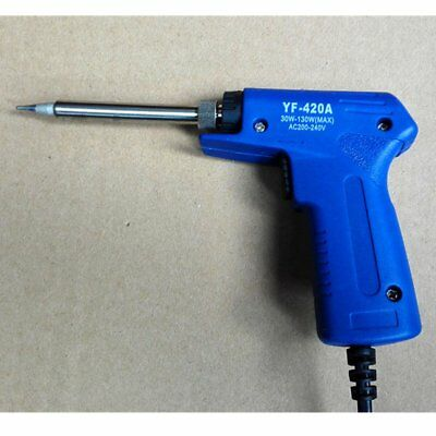 Dual Power Quick Heat-Up Adjustable Welding Electric Soldering Iron Gun NY LK
