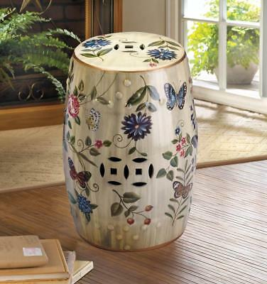 Decorative Garden Stool Or End Table Multiple Style Variations