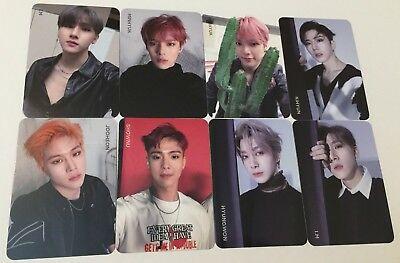 MONSTA X 2nd ALBUM TAKE 1 ARE YOU THERE photocard PHOTO CARD OFFICIAL NEW VER