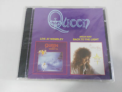 Queen Live At Wembley + Back / To The Light - 2 X Cd Russia Russia Ed. New Nuovo