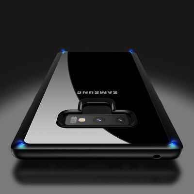 For Samsung Note 9 Note 8 S9 plus Shockproof Soft TPU Rubber Silicone Case Cover