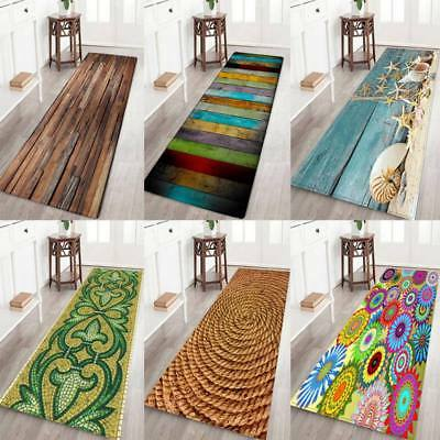 AU Dining Room Carpet Shaggy Area Rug Bedroom Rectangle Floor Non Slip Mat Decor