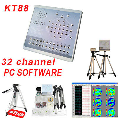 KT88-3200 Digital 32 Channel EEG Machine&Mapping System Brain electric 2 tripods