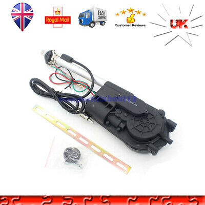 Car Electric Aerial Radio Automatic Booster Power Antenna w/Amount G14 Universal
