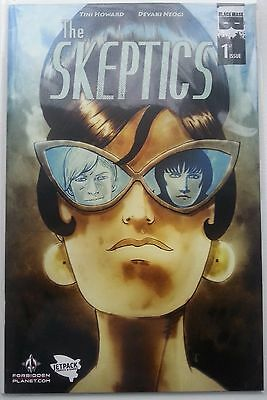 The Skeptics #1 Black Mask comics Jetpack/Forbidden Planet Exclusive Variant