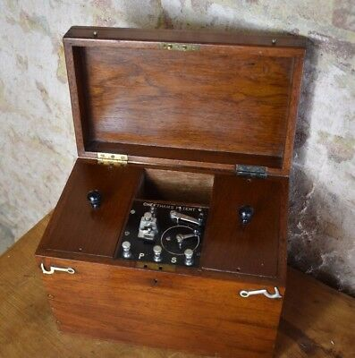 Antique Electric Shock Therapy Machine Device Medical Vintage Prop
