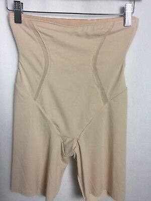 04ab1c0fca2 Maidenform Size Medium Control It High Waist Thigh Slimmer DM5001 Latte F27