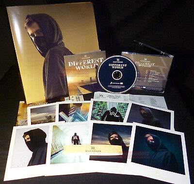 Alan Walker Different World 2018 Taiwan CD w/OBI + Folded Poster + 8 Cards NEW