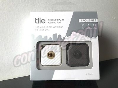 Tile PRO SERIES Style & Sport Combo Pack Bluetooth Waterproof Smart Trackers NIB