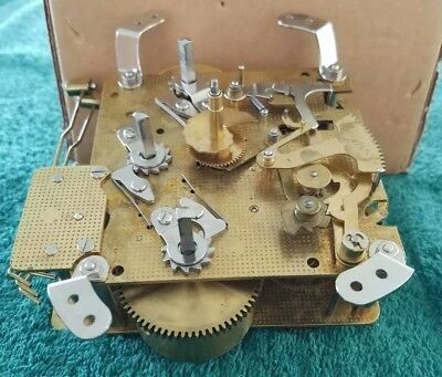 Hermle 341-020 Clock Movement   used, as-is, for parts, repair