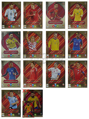 2018 FIFA World Cup Russia ADRENALYN XL PANINI - choose one Limited Edition card