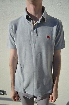 Polo homme taille S burberry brit gris small burberry polo shirt size small  grey da57a3290c8