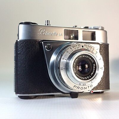 Vintage Kodak Retinette 1A 35mm Film Camera