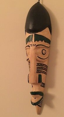 African Wood Native Mask - Handcrafted In Kenya   New