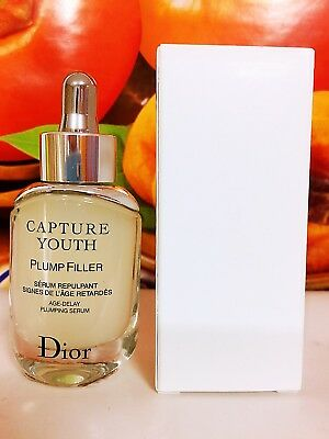 Dior Capture Youth Plump Filler Age-Delay Plumping Serum 30ml New in White Box