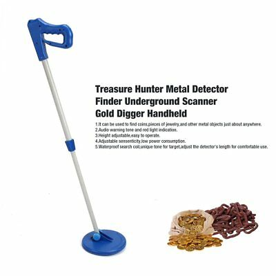 Treasure Hunter Metal Detector Finder Underground Scanner Gold Digger Handheld C