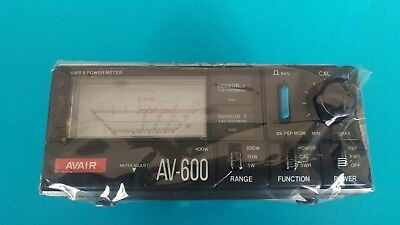 AVAIR AV-600 SWR/RF Power Meter - Free Delivery