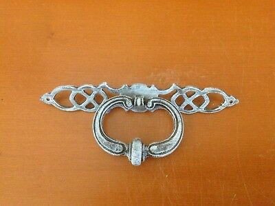 588 Vintage French provincial  Ring Pull wt back plate Shabby Chic!