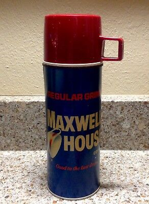 Vintage 1958 MAXWELL HOUSE COFFEE Thermos-EXCELLENT Condition