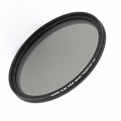 86mm Fader Adjustable Variable Neutral Density ND Filter ND2 to ND400 For Camera