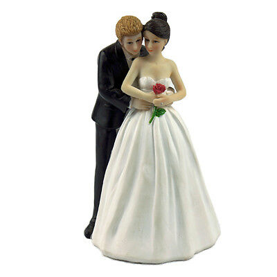 Texting Bride And Groom Funny Couple Modern Wedding Cake Topper