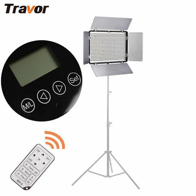 Travor 600LED Video Light Panel Lighting For Camera Camcorder Photography Studio