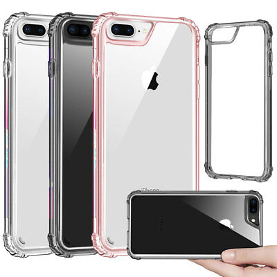 on sale 05a7b c94da SHOCKPROOF SILICONE CASE Cover Support Wireless Charging For iPhone 8 / 8  Plus