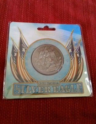 Official BioShock Infinite Silver Eagle Collectible Coin *NEW SEALED*