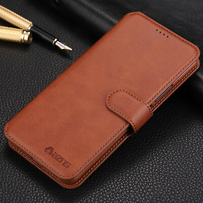 For Huawei P20 Lite Pro Luxury Flip PU Leather Case Wallet Stand Card Slot Cover