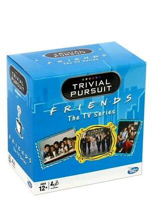 Winning Moves Friends Trivial Pursuit Quiz Game - Bitesize Edition NEW