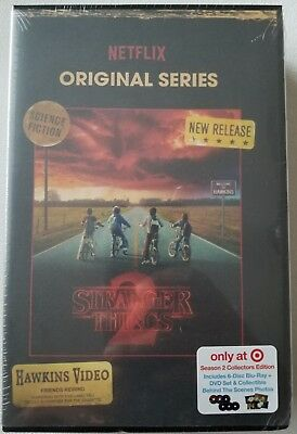 New Stranger Things Season 2 Blu Ray Dvd Target Exclusive Vhs Packing + Photos
