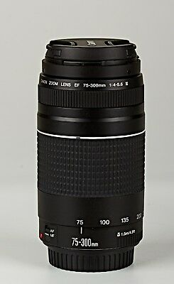 *Canon EF 75-300mm f/4-5.6 III Telephoto Zoom Lens for Canon SLR Cameras