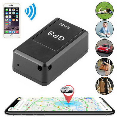 GF07 Magnetic Mini Car GPS Tracker Gsm Voice Real Time Tracking Locator Device