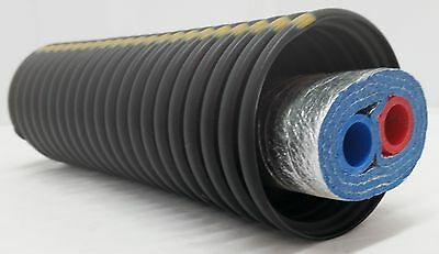 """40 Feet of Commercial Grade EZ Lay Triple Wrap Insulated 1 1/2"""" NB Pex Tubing"""