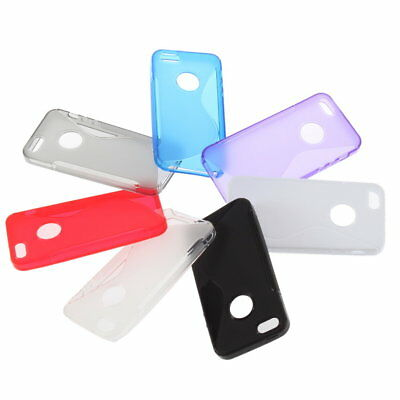 Soft TPU Silicone Gel Cover Case Skin for iPhone 5 5S BF#
