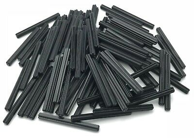 LEGO LOT OF 100 NEW BLACK TECHNIC AXLE 6 PIECES RODS PIECES