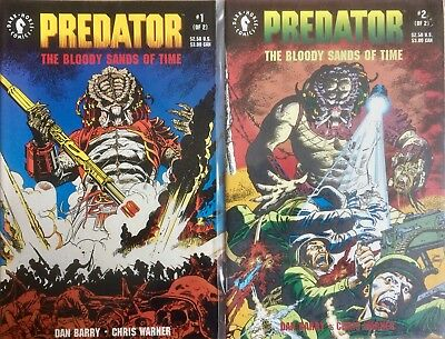 Predator: The Bloody Sands Of Time #1,2